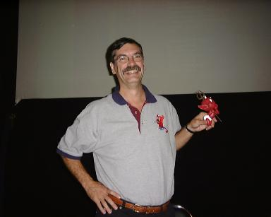 "Le Docteur McKusick lors du séminaire ""FreeBSD kernel Internals"" à Paris, en novembre 2001 (photo © Hubert Tournier)"